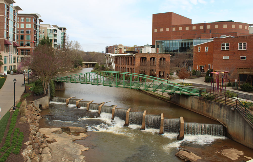 view of Greenville, SC