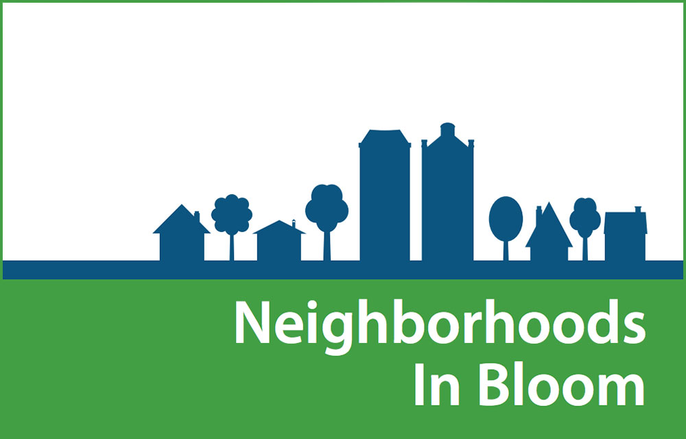 Neighborhoods in Bloom logo